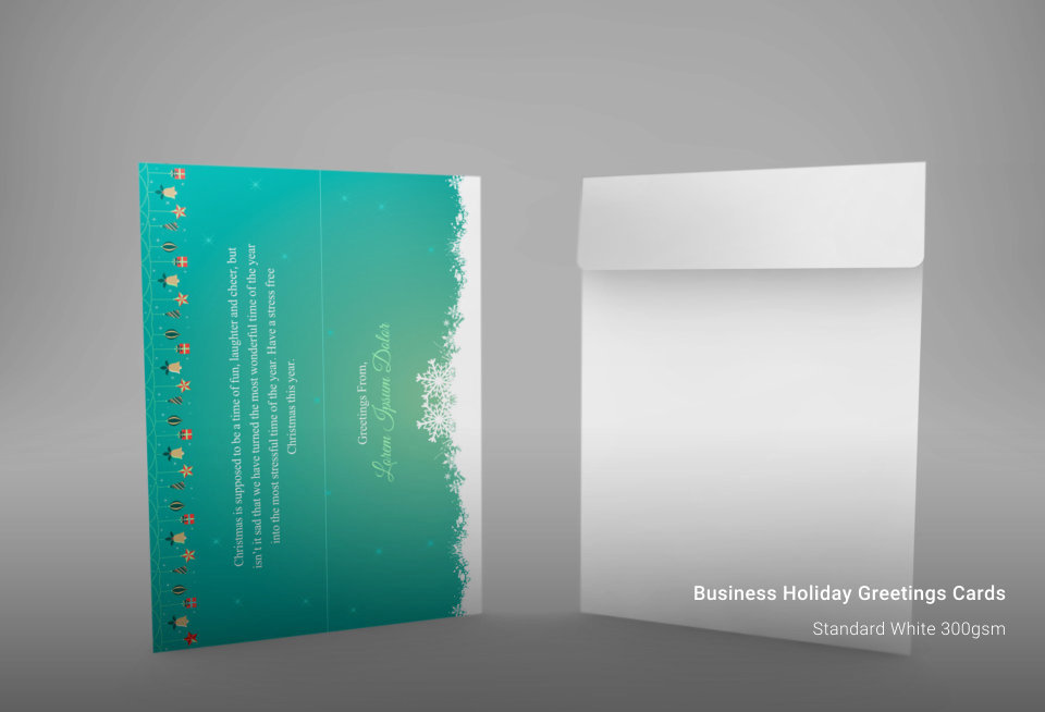 Business Holiday Greeting Cards | New York Business Cards ...