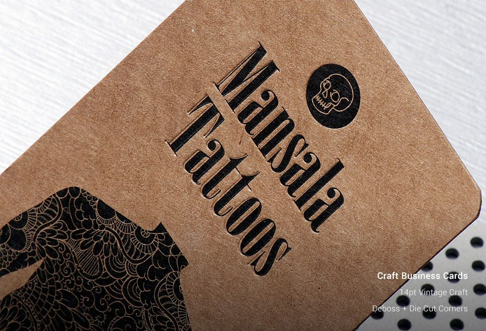 Craft Business Cards | Business Cards Printing | Vintage Business ...