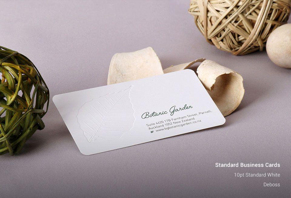 Standard Business Cards | New York Business Cards | AllStickerPrinting