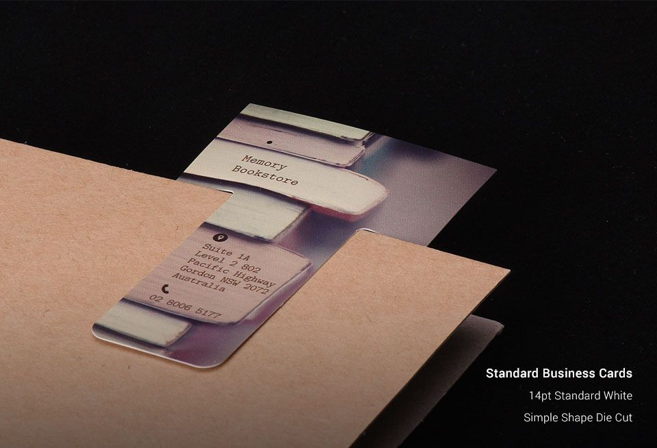 Standard Business Cards | New York Business Cards | AllStickerPrinting