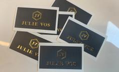 Julie Vos Gold Spot Stickers