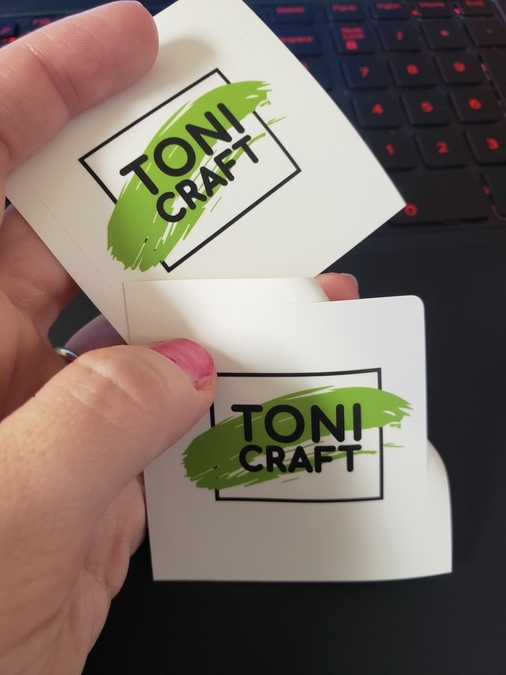 Perfectly Awesome Rounded Square Stickers!