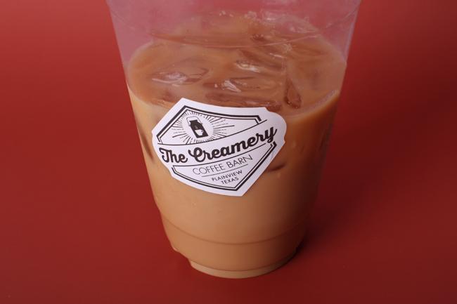 the creamery coffee barn texan stickers