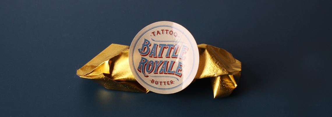battle royale butter custom stickers