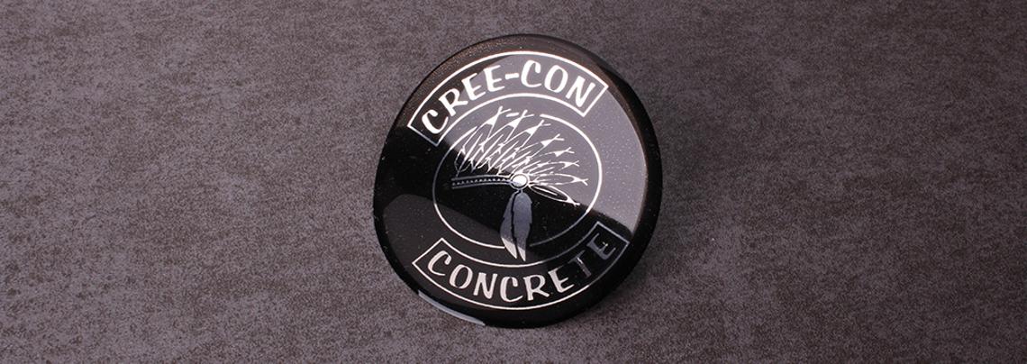 cree-con concrete epoxy stickers