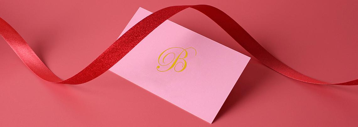 custom wedding planner business card